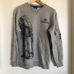 Star Wars x Adidas crew neck